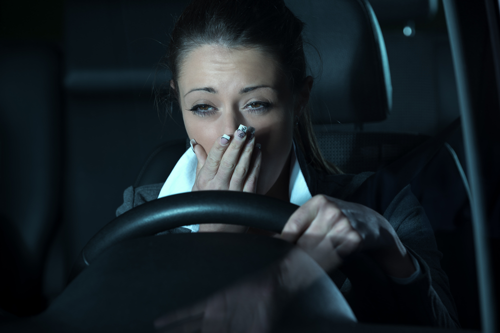 Dangers of Driving Tired
